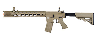 "Lancer Tactical LT-25 ProLine Series M4 SPR ""Interceptor"" Airsoft AEG [LOW FPS] (TAN)"