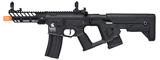 Lancer Tactical Enforcer Hybrid NEEDLETAIL AEG w/ Alpha Stock [LOW FPS] (BLACK)
