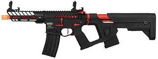 Lancer Tactical Enforcer NEEDLETAIL Skeleton AEG [LOW FPS] (BLACK + RED)