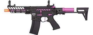 Lancer Tactical ProLine NEEDLETAIL PDW Skeleton AEG [HIGH FPS] (BLACK/PURPLE)