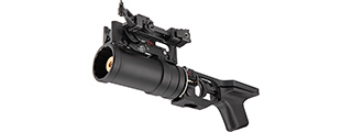 Double Bell GP-30 Style AK Series Airsoft Grenade Launcher (BLACK)
