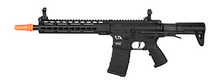 "Classic Army KM10 ARS4 10"" M-LOK M4 Airsoft AEG Rifle w/ PDW Stock (Black)"
