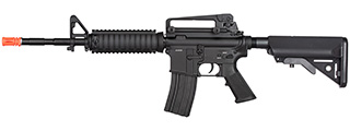 Double Bell M4A1 RIS Carbine AEG Full Metal Airsoft Rifle (BLACK)