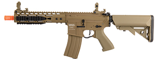 "Lancer Tactical LT-14CT-G2-ME Proline 9"" KeyMod Rail w/ Picatinny M4 Carbine AEG (Tan)"