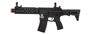 Lancer Tactical LT-15SBDL-G2 Gen 2 AEG Rifle w/ PDW Stock and Short Silencer (Black)