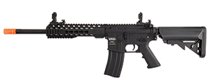 "Lancer Tactical LT-19BL-G2-M Gen 2 Airsoft M4 Carbine 10"" AEG Rifle (Black)"