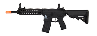 Lancer Tactical LT-24BA8-G2-E Hybrid M4 Carbine AEG w/ Free Float Rail (Black)