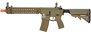 Lancer Tactical LT-24TA12-G2-E Hybrid M4 Carbine AEG Airsoft Rifle (Tan)