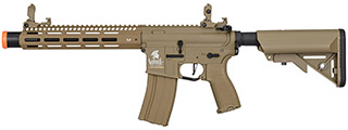 "Lancer Tactical LT-32TA10-G2-E M4 SPC Hybrid 10"" ETU AEG Rifle (Tan)"