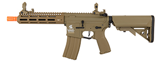 "Lancer Tactical LT-32TA8-G2-E 8"" Hybrid Gen 2 M4 Airsoft AEG (Tan)"