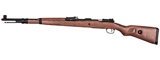 Double Bell WWII Kar 98k Bolt Action Gas Airsoft Rifle (WOOD)