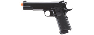 Double Bell 1911 CO2 Airsoft Pistol (Color: Black)