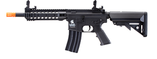 Lancer Tactical LT-24B Gen 2 CQB M4 AEG Rifle (Color: Black)