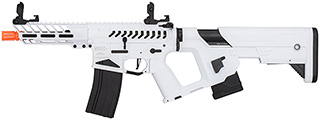 Lancer Tactical Enforcer NEEDLETAIL Skeleton AEG w/ Alpha Stock (WHITE/BLACK)