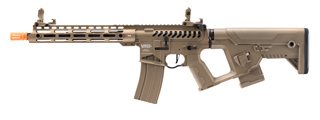 Lancer Tactical [Low FPS] Enforcer Blackbird Skeleton AEG w/ Alpha Stock (Color: Tan)