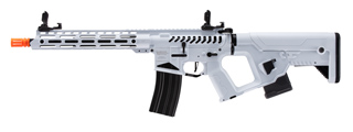 Lancer Tactical Enforcer Blackbird Skeleton AEG w/ Alpha Stock (Color: White)