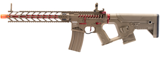 Lancer Tactical Enforcer Night Wing Skeleton AEG w/ Alpha Stock (Tan)